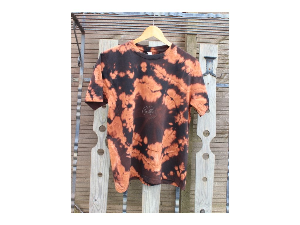 t-shirt uni L black batik cotton