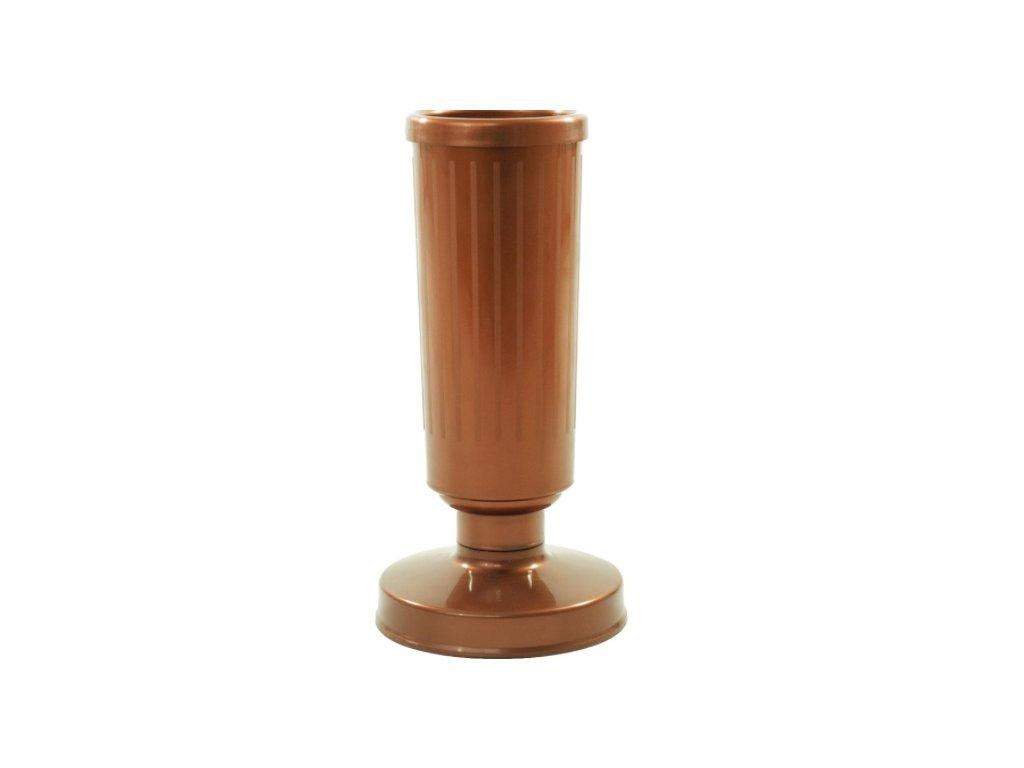 30cm váza zataz medená