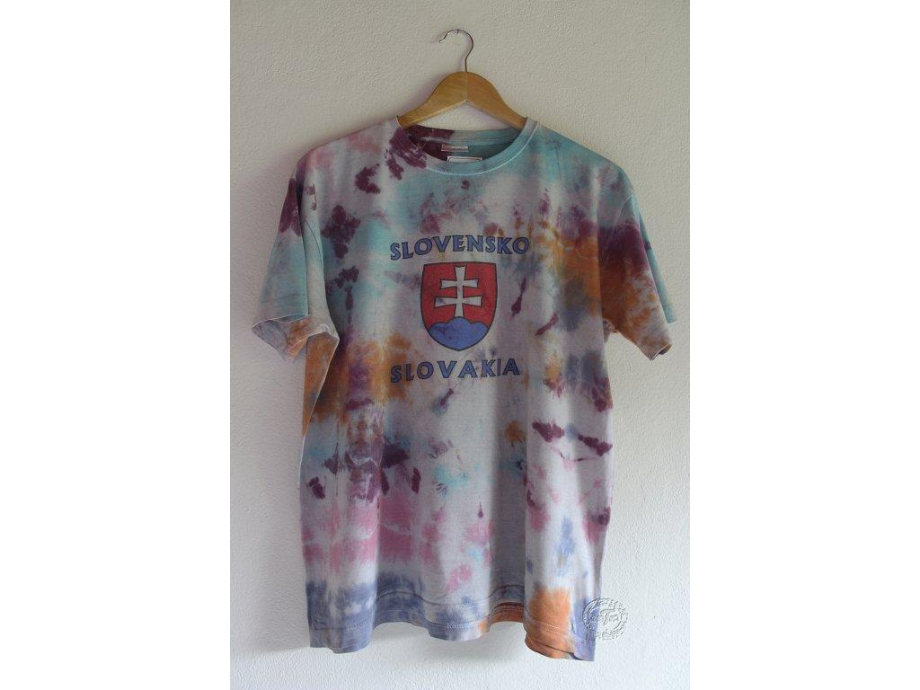 recy tričko batika XL uni