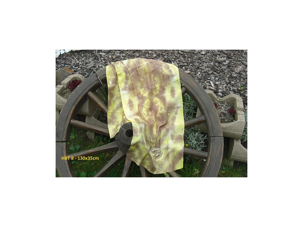 silk scarf HBT8-130x35 batik