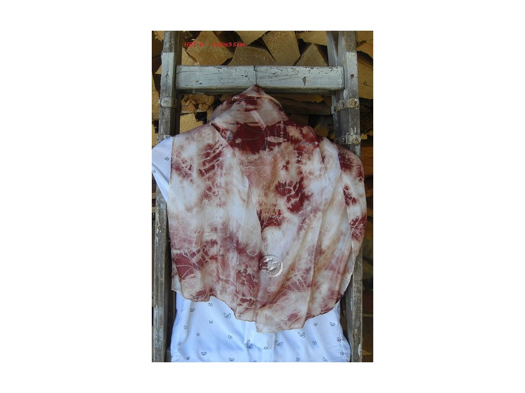 silks scarf batik hbt8-130x35xm