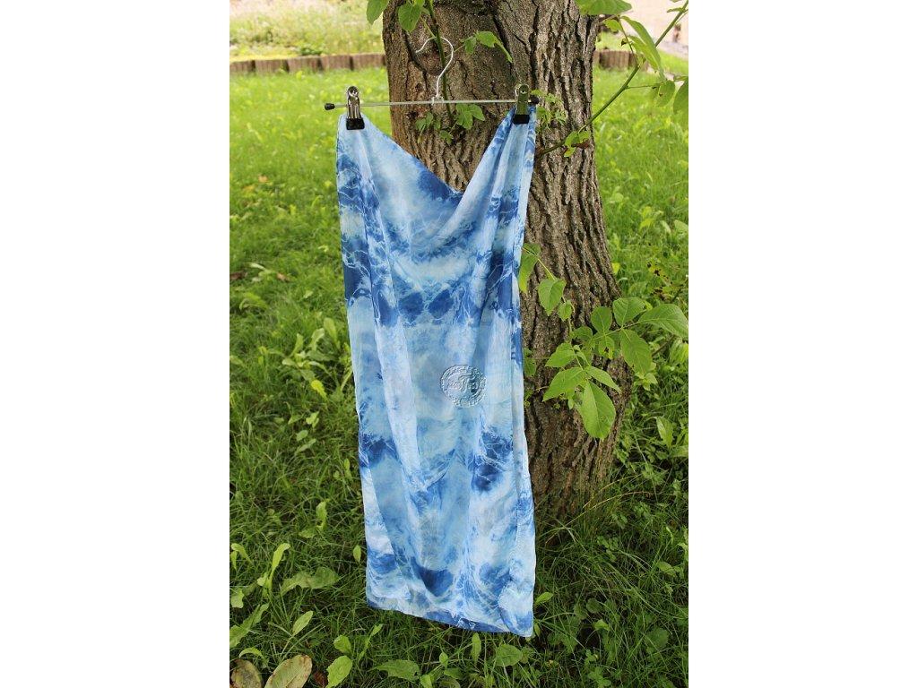 silk scarf 180x45 batik