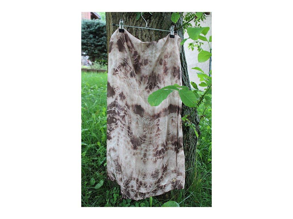 silk hbt 8 brown batik