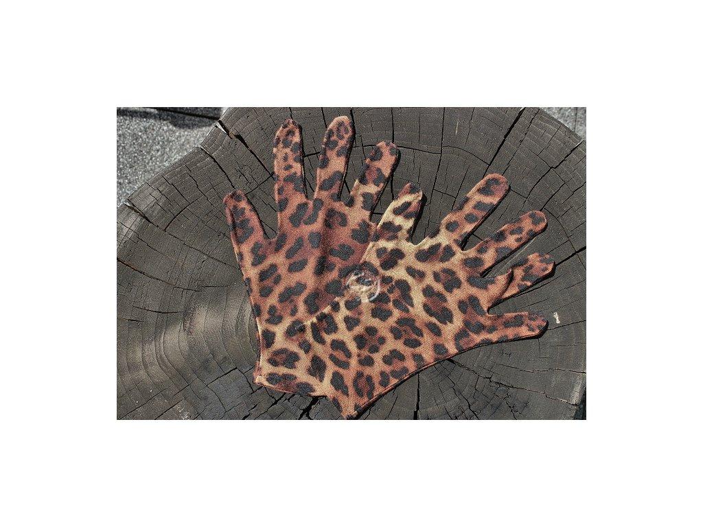 rukavice 5 prsté úpletové farebné