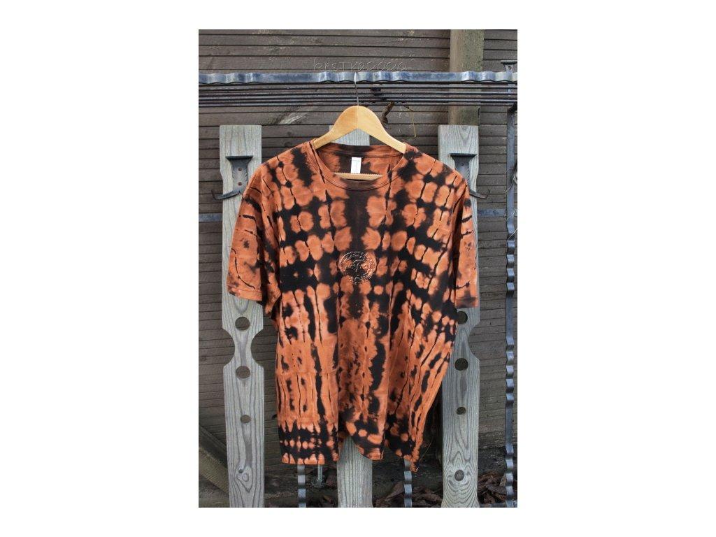extra veľké batikované tričko 2XL