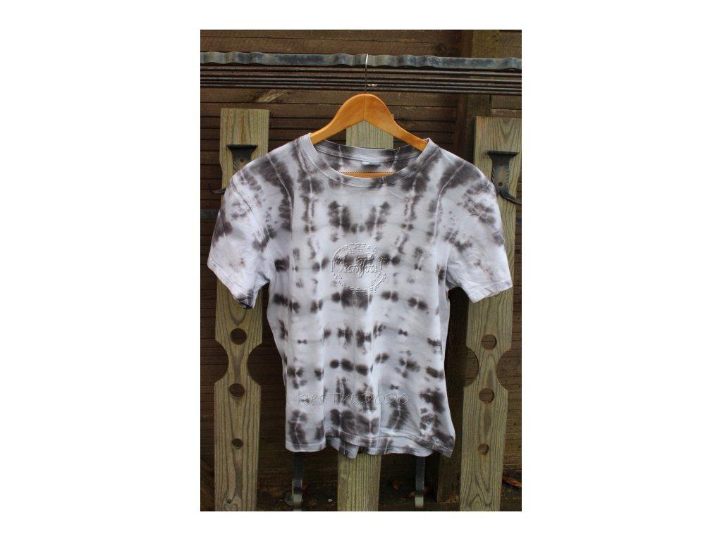 RecyVec*tričko bavlnené batikované uni*L