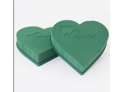 srdce zelené