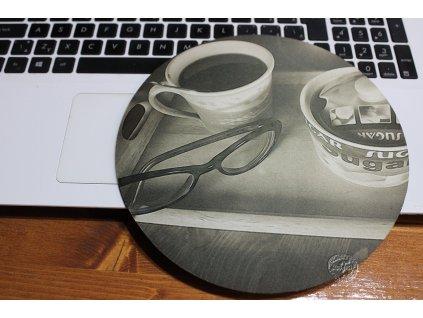 mouse pad autorská okrúhla