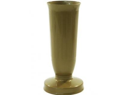 umelohmotná náhrobná váza so záťažou  26cm/1,10kg rôzne farby