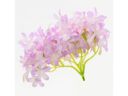 hlavička hortenzia fialová12cm