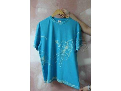 t-shirt uni XL batik cotton