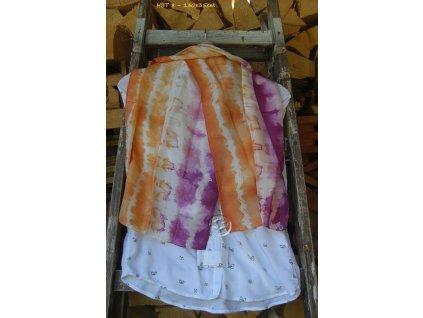 silk scarf 130x35 hbt8 batik